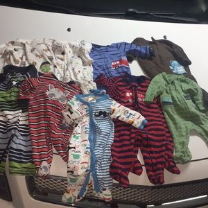 0-3 and 3 month infant lot